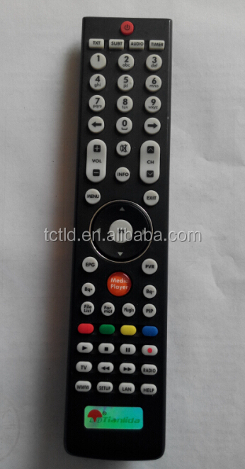 USB download remote control programmable 4 in 1 downloading from PC universal remote control with learning function