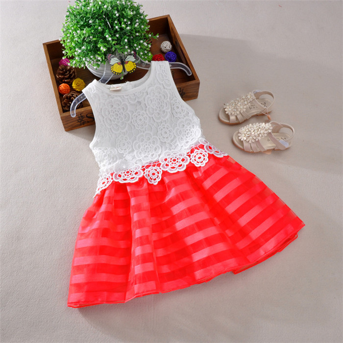 new style children kids dress white lace angel dress for baby girl