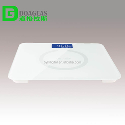 digital electronic body scale with alarm clock setting