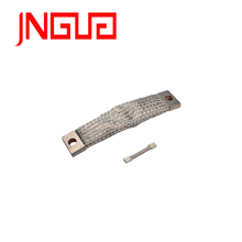 Bare copper laminated shunt for high-voltage application