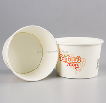 Yogurt and Ice Cream Paper Cups, 9oz Ice Cream paper cups, Ice Cream Pots