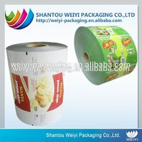 Custom printing poly lined paper roll film with high quality