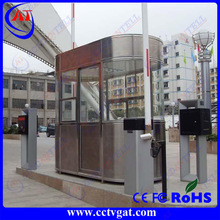 Steel structure movable guard house,security booth sentry box,outdoor furniture prefabricated movable guard house