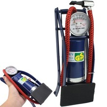 Newest fashion Portable Foot Operated Cylinder Tire Pump Inflator for Basketball Bicycle