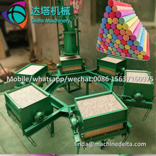 Calcium carbonate school chalk stick extruder machine to make dustless chalk