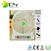 Best Selling LED message mini fan usb programmable LED flashing fan usb mini desk fan