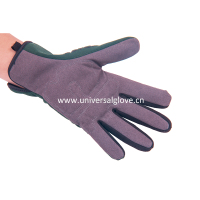 hot china products wholesale cotton work glove with black pvc dot