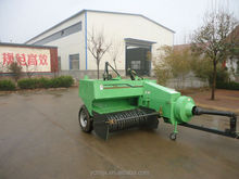 Mini square/round hay baler