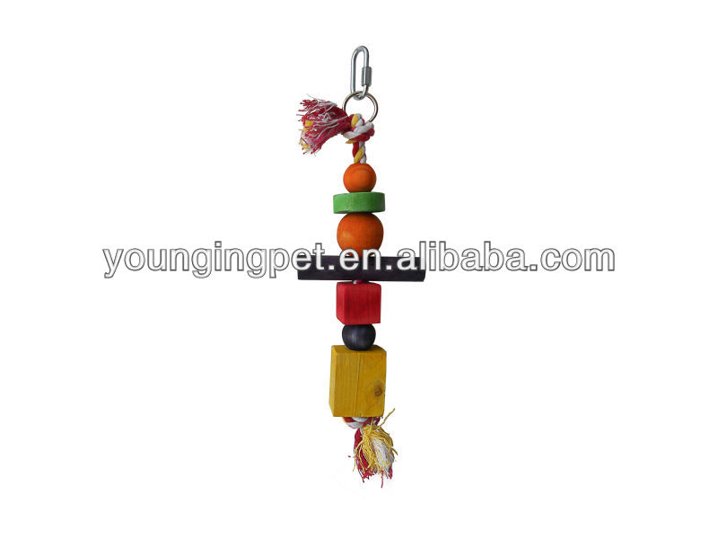 Bird swing rope Wood Bird Toys