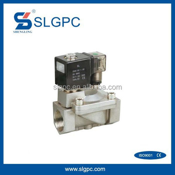 Stainless steel body best price water control valve solenoid wireless water valve solenoid stainless SPU225-08A