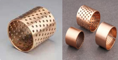 BIMETAL BUSH WZB-092 BRONZE-WRAPPED SLIDING BEARING