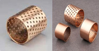 BIMETAL BUSH WZB(FB)-09G BRONZE-WRAPPED SLIDING BEARING