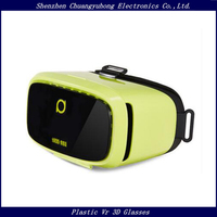 "Shenzhen VR Deepoon VR Box 3D Glasses Virtual Reality Headset Fit 5""-6"" Mobile Phones Free Video Player"