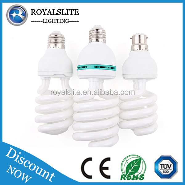 85w 105w High Power Factory Use Sprial Lamp Price Energy Saving Light CFL Bulbs