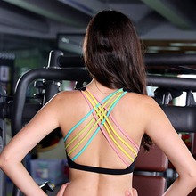 Factory cheap wholesale sexy women nude sports bra seamless fitness wear
