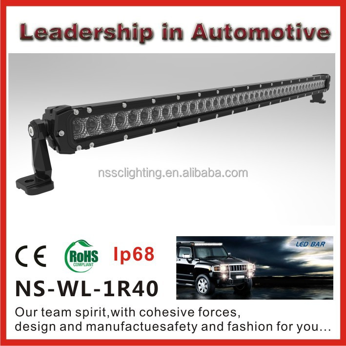 Hot sale IP68 Waterproof 40inch CREE LED light bar, mini led light bar for UTV,Offroad,Jeep,Truck,SUV,4WD,Car