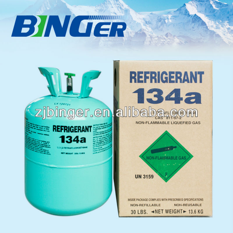 <strong>r134a</strong> refrigerant gas with 99.9% purity best price