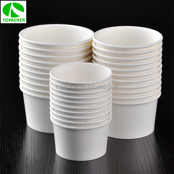 Eco-friendly disposable food packaging rice bowl
