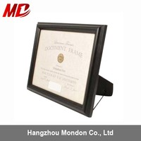 Wooden university certificate frame