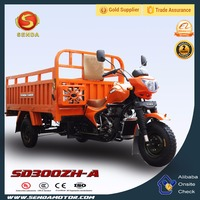 New Designed Made in Chongqing China 300CC Cargo Tricycle for 3 Adults Factory Price SD300ZH-A