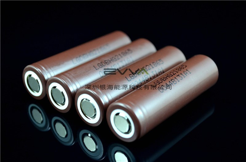High Capacity High Performance 18650 Lithium ion Rechargeable Battery LG INR18650HG2 3000mAh 20A