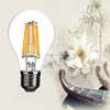 Fancy ceiling lighting led filament bulb 8w a60