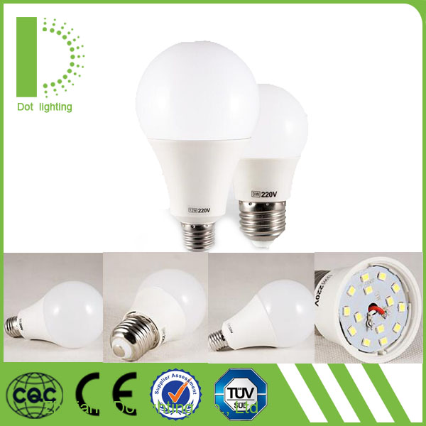 Led light bulbs wholesale led bulbs 7w A60 e27