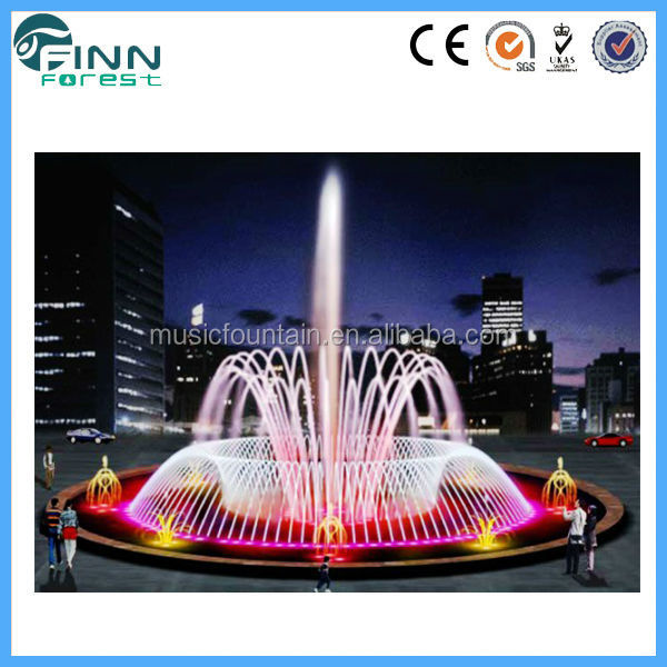 music foutain projects underwater LED dancing water fountain