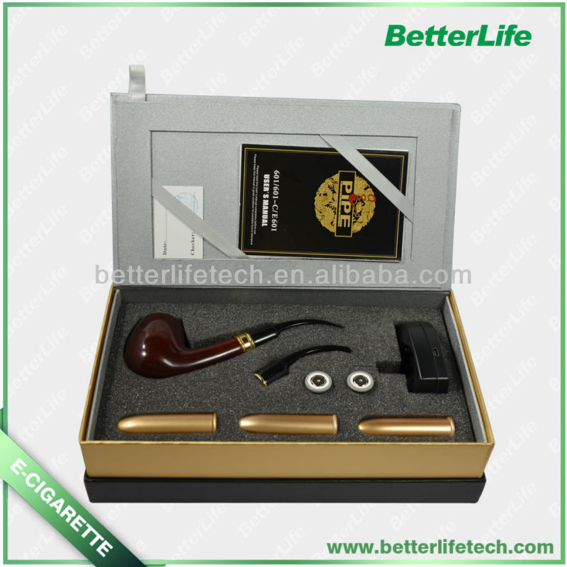 [Betterlife]2013 wooden best rechargeable e-pipe DSE 601/601 C e-pipe model e-pipe 608b