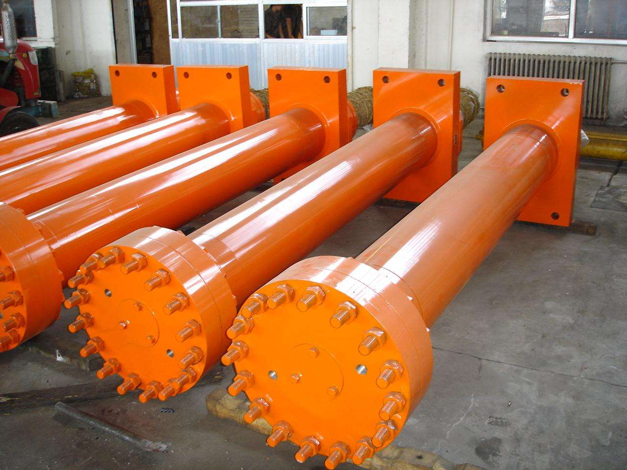 China 20 ton single acting hydraulic cylinder for sale