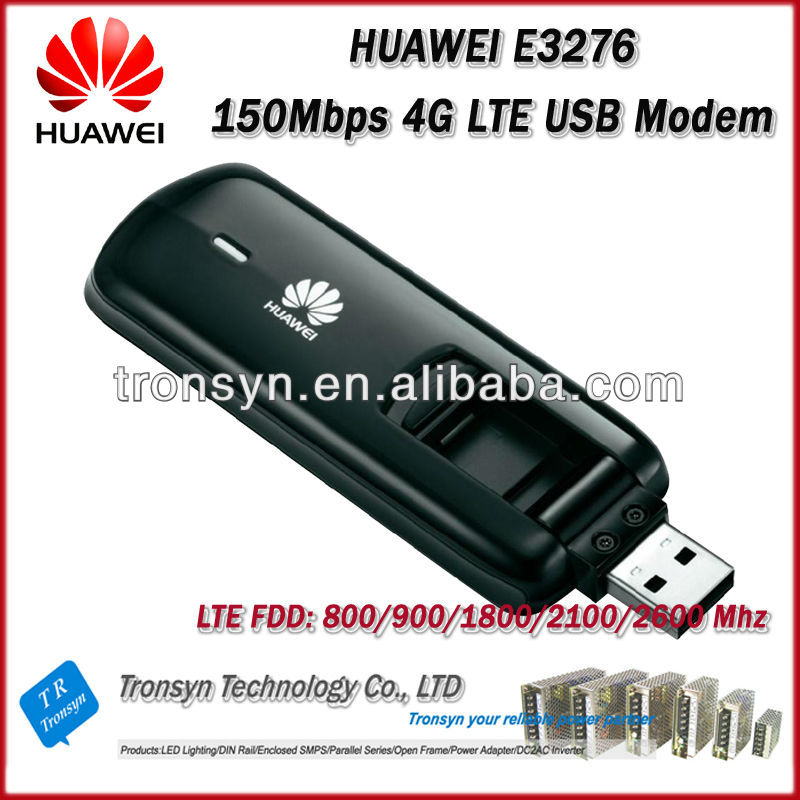 New Original Unlock LTE 150Mbps HUAWEI E3276 4G USB Dongle And 4G LTE Modem