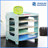 Yiwu Trade Assurance Cheap Muliti Color Display Holder Storage DIY Wood Ddesk File Organizer