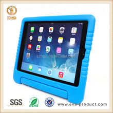 Thick Foam Shock Proof childproof hard case for ipad air with stand holder