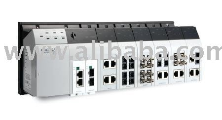 MOXA EDS-828 / 24 + 4G-port Layer 3 Gigabit modular managed Ethernet switches