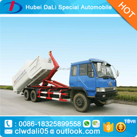 Dongfeng 4X2 8ton Hook Lift Garbage Truck For Sale