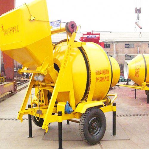 Hot Hydraulic Transport Costa Rica Wheel Barrow Concrete Mixer Industrial Construction Equipment With Low Price