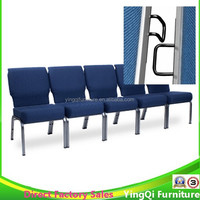 Used Cheap Royal Blue Church Chairs