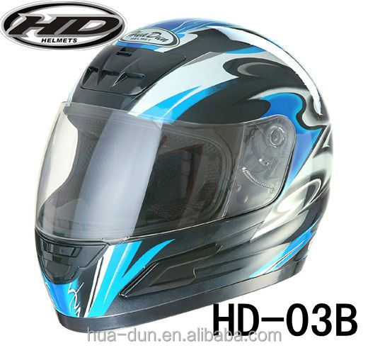 motorcycle full face NEW ABS DOT GB low price helmet WITH GOOD QUALITY HD-03