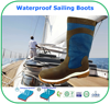 Advanced Breathable Membrane Waterproof Leather Sailing Boots