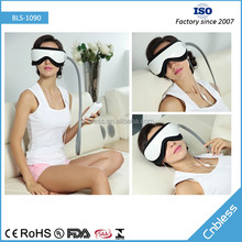 Popular TV Shop MP3 Playing Automatic Air Pressure Fatigue Reducing Eye Massager