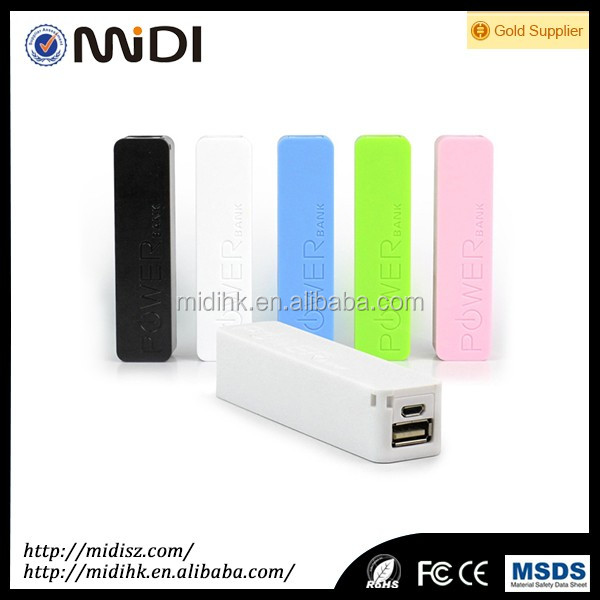 OEM best selling high quality mini lipstick power bank 2600mah,universal portable mobile phone smart battery charger