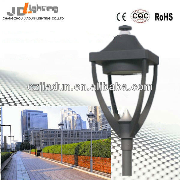 CE Rhos IP65 residential path high pole yard decoration lighting