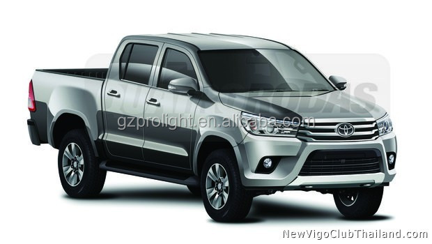 HILUX REVO 2015 front grille From 23 Years Manufacturer In China_ TY022E-FG