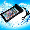 "4.5""-5.0"" Hot pvc waterproof phone case cover with earphone"