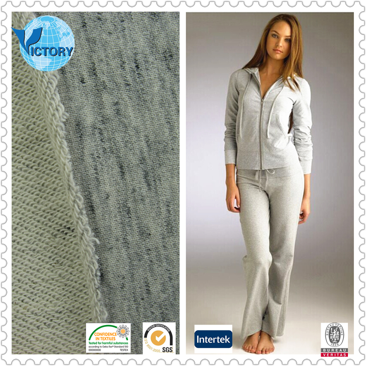 100% Bamboo French Terry Towelling Knit Fabric for Clothes,Sportwear,Jacket