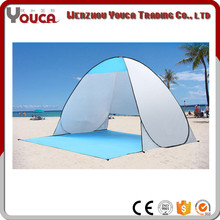 Outdoor 150*180*100cm UV Resistant 2 Person Canvas Camping Waterproof fold Beach Tent