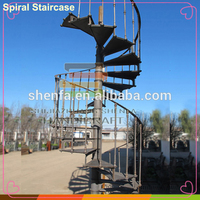 cheap modern used outdoor iron stairs