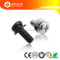 Phillip Pan Head Screw With Washer Attached