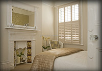 Wood blinds slats wooden plantation shutters from china