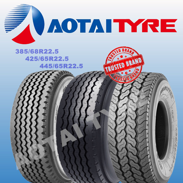 high performance 385/65r22.5 triangle tr697 truck tire